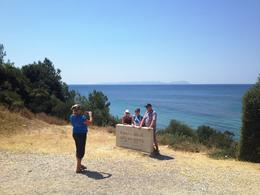 Photo stop at ANZAC Cove, where the troops landed on April 25, 1915 - September 2013