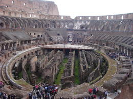 Inside the coliseum. , Rodney B - April 2011