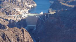 The pilot will fly over Hoover Dam and fly lower so you can have a closer look! :) , jasminetay - February 2013