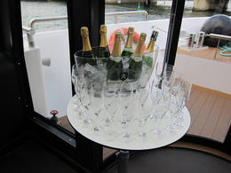Photo of Paris Champagne Tasting on a Seine River Cruise Champagne!