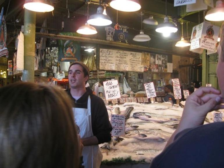 Learning about Salmon - Seattle