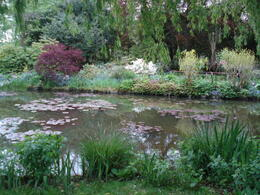 This is the famous lily pond at the gardens of Claude Monet. , marilynq1952 - May 2014