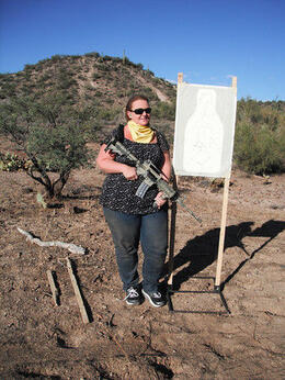 Photo of Phoenix Phoenix Shooting Range: Firearms Course & Firing Line Shooting My Target