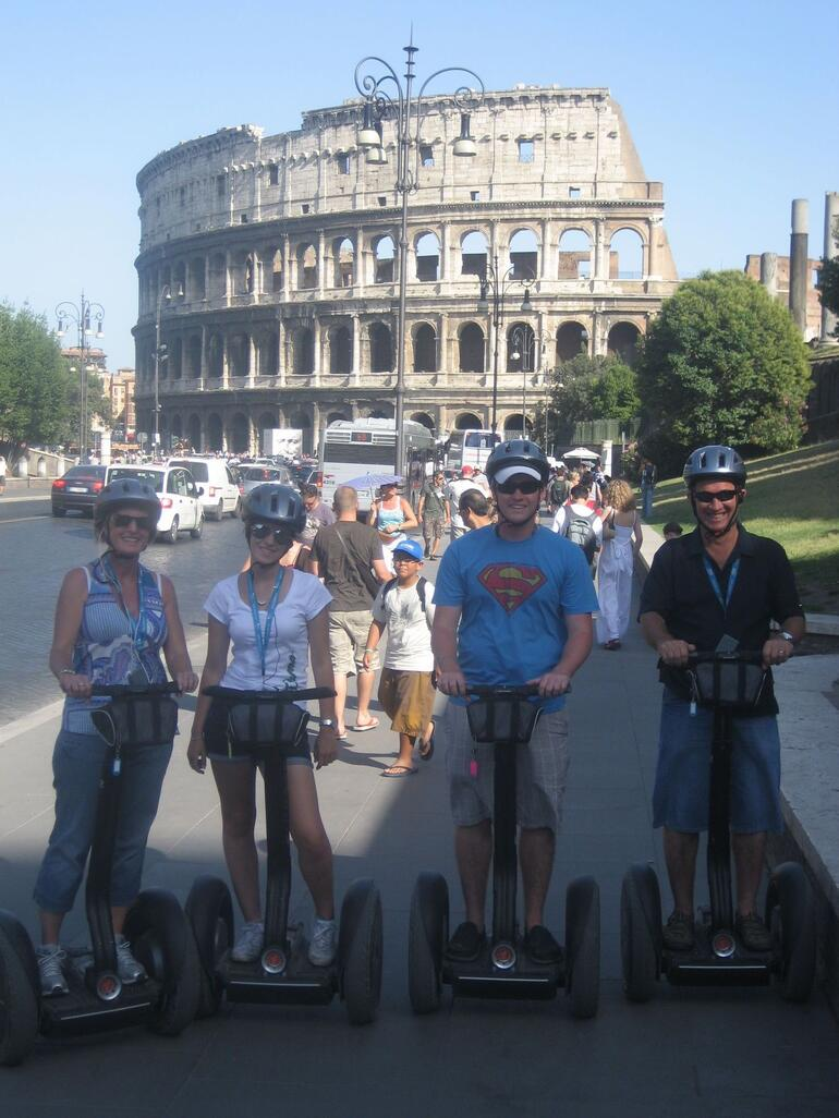 Segways at the Coliseum - Rome