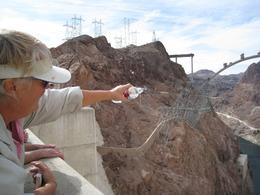 Photo of Las Vegas Ultimate Hoover Dam Tour Windy at the top.