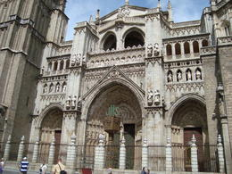 One of many beautiful buildings in Toledo dating back hundreds of years. , David F - August 2011