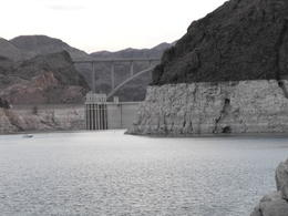 Photo of Las Vegas Lake Mead Dinner Cruise Approaching the Hoover Dam