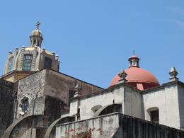 Church in the Coycoacan neighborhood of Mexico City. , Kevin F - May 2013