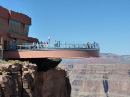 The Grand Canyon Skywalk. - May 2009
