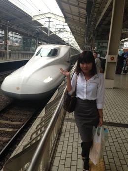 Bullet train to Kyoto, Bing - August 2013