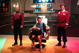 Star Trek, Jules & Brock - September 2012