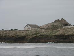 Photo of San Francisco Whale Watching & Wildlife Eco Tour from San Francisco One of the few building on the Farallon Islands