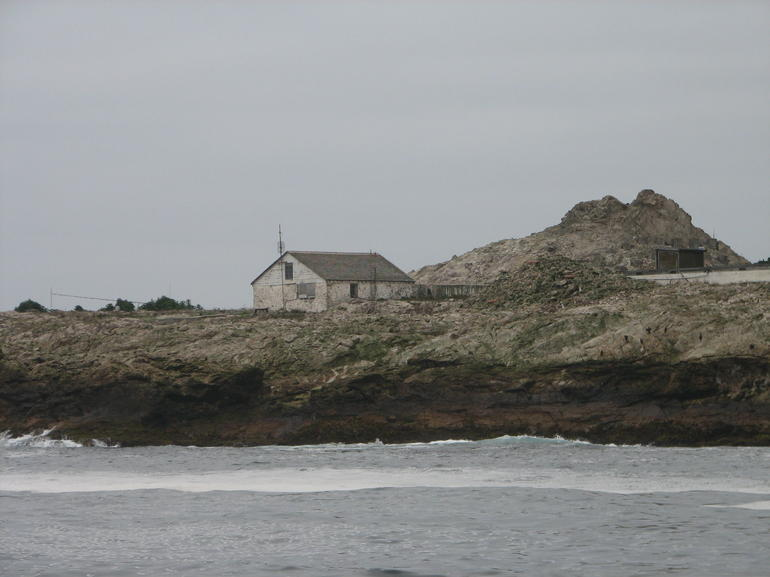 One of the few building on the Farallon Islands - San Francisco
