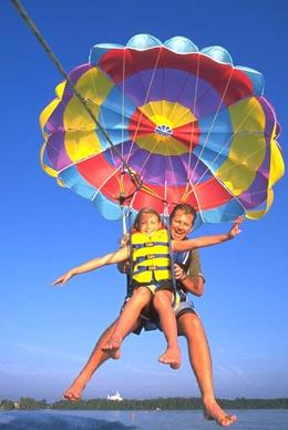 Photo of Orlando Tandem Parasailing at Disney's Contemporary Resort Parasailing