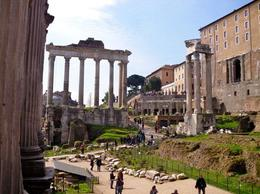 At the Roman Forum - July 2014