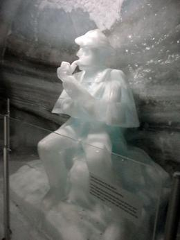 One of the many beautiful ice carvings in the Ice Palace , John G - November 2013