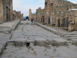 Photo of Naples Pompeii and Amalfi Coast Day Trip from Naples Stepping stones