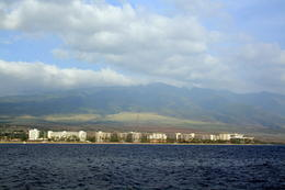View of Maui from the boat. - May 2013