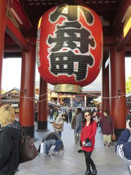 The temple at Asakusa , Ian P - November 2013