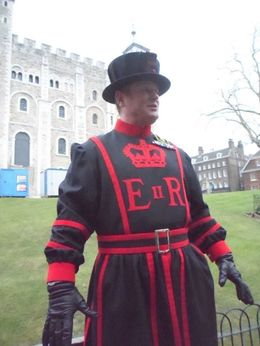 Photo of London Tower of London Entrance Ticket Including Crown Jewels and Beefeater Tour The Baby Beefeater!