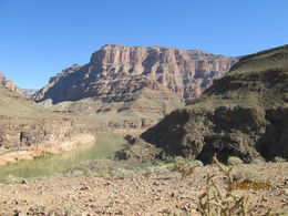 A beautiful view of the canyon while below the rim., Nicks - November 2014