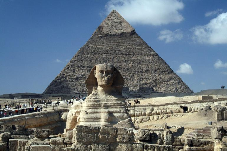 The Sphinx - Cairo