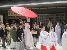 Photo of Tokyo Panoramic Tokyo Day Tour - Meiji Shrine, Asakusa Temple and Tokyo Bay Cruise Traditional Japanese Wedding