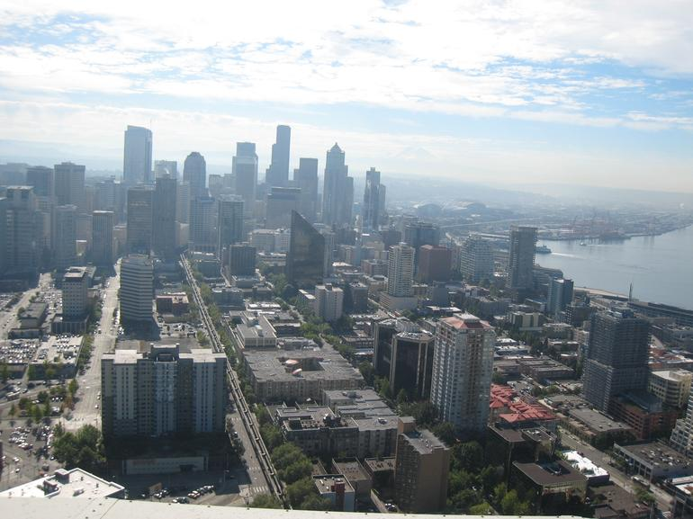 View from Space Needle - Seattle