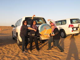An exhilarating experience riding the dunes ... , Azma H - December 2014