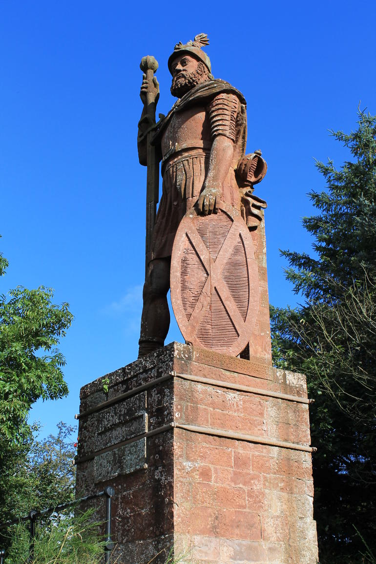 William Wallace, sort of - Edinburgh