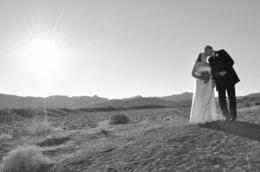 Photo of Las Vegas Valley of Fire Wedding by Private Limousine Wonderful couple