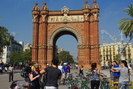 Photo of Barcelona Barcelona Half-Day Bike Tour Arc de Triomph Barcelona