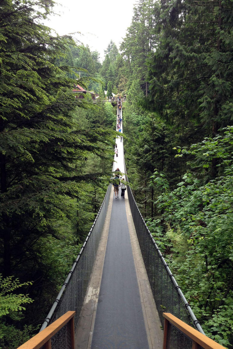 Capilano Suspension Bridge - Vancouver