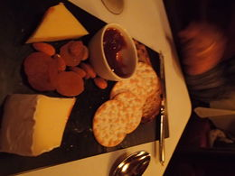 Cheese and biscuits - lovely finish , Teresa M - July 2015