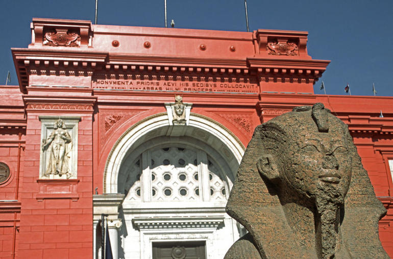 Egyptian Antiquities Museum - Cairo