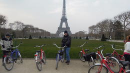 An opportunity to take photos with the Eiffel Tower in the background , dgmckelvey - May 2013