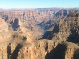 Photo of Las Vegas Grand Canyon Helicopter and Ranch Adventure Flying through the Grand Canyon..