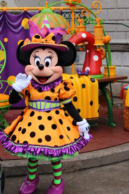 Minnie Mouse loves orange! , matty - October 2013