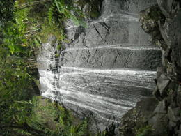 Waterfall - this is one of the stops on the El Yunque excursion , Agnes Z - May 2013