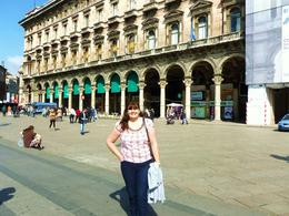 yvonne in milan square , John D - April 2012