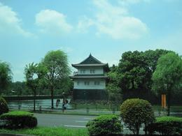 After walking around the Imperal Garden, driving by the palace walls. - July 2010