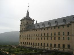 Photo of Madrid El Escorial Monastery and the Valley of the Fallen from Madrid Picture from Palace window