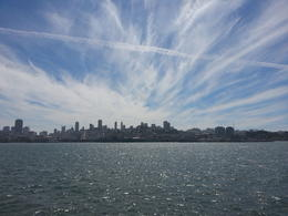 This is a great shot of SF as you approach the pier - again fog depending! , Northern Baggie - September 2012