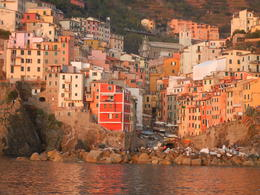 Photo of Florence Cinque Terre Hiking Day Trip from Florence Sunset at Riomaggiore