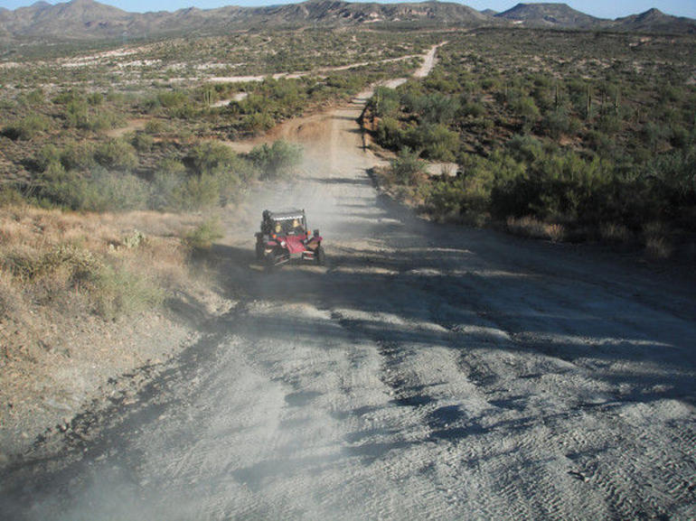These were not roads, but dirt trails - Phoenix