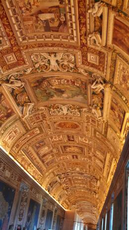 Photo of Rome Skip the Line: Vatican Museums Walking Tour including Sistine Chapel, Raphael's Rooms and St Peter's Vatican Museum ceiling.