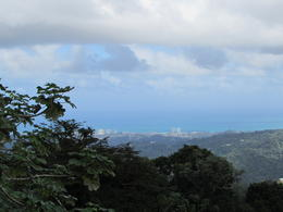 Picture of San Juan and ocean taken from top of Tower. Worth the walk up. , Regina S - January 2014