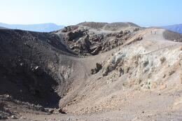 Photo of   Volcanic crater on Nea Kameni