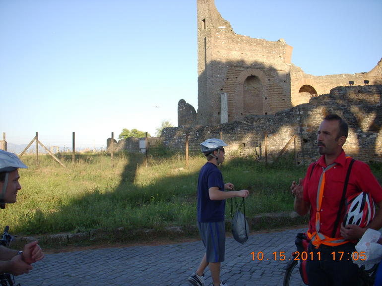 Appian Way Oct 15,  2011 - Rome