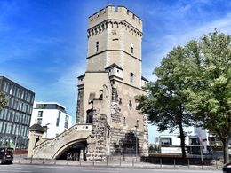 The bayenturm is part of an 11th century medieval city wall. , David Lally - September 2015